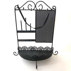 Other - Black Metal Jewelry Holder Stand